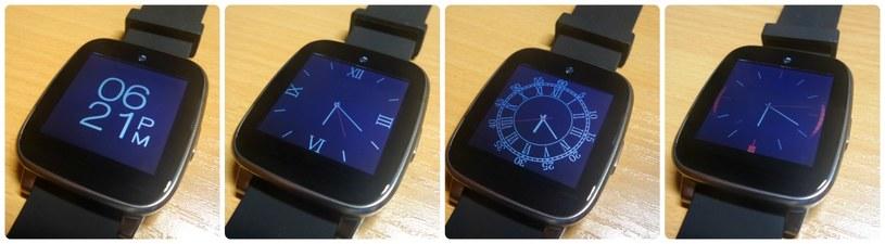 Dostępne cztery tarcze zegarka to zdecydowanie za mało. Chcielibyśmy mieć więcej możliwości personalizacji /Samsung Galaxy S5 K Zoom /INTERIA.PL