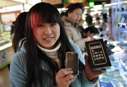 Dotychczas iPhone był w Chinach dostępny tylko na targowiskach /AFP