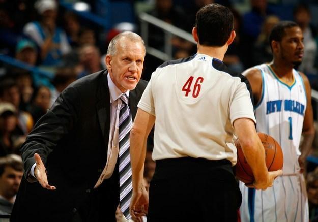Doug Collins, trener Philadelphia 76ers /AFP