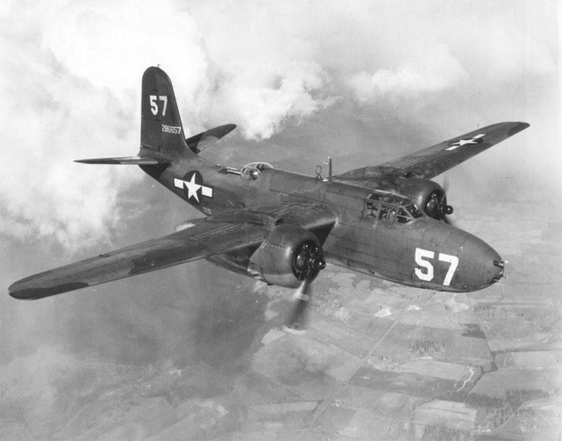 Douglas A-20G Havoc, zdj. ilustracyjne /https://pl.wikipedia.org /