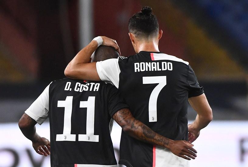 Douglas Costa i Cristiano Ronaldo /LUCA ZENNARO /PAP/EPA