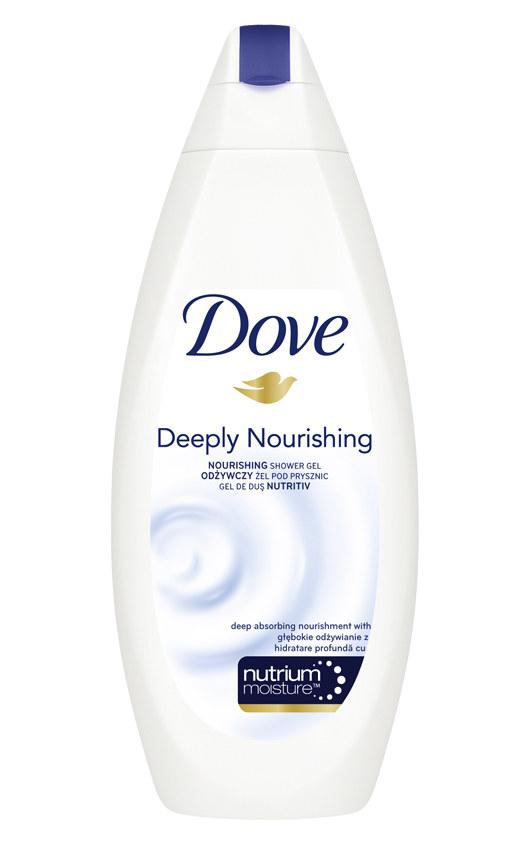 Dove Odżywczy żel pod prysznic  /materiały prasowe
