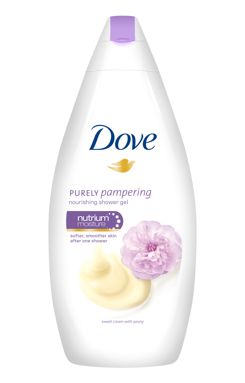 Dove: Żel pod prysznic Słodki Krem z Piwonią /materiały prasowe