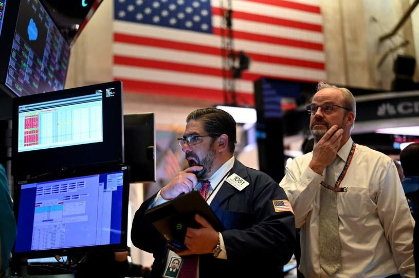 Dow Jones Industrial zamknął sesję najniżej od 20 lipca /AFP