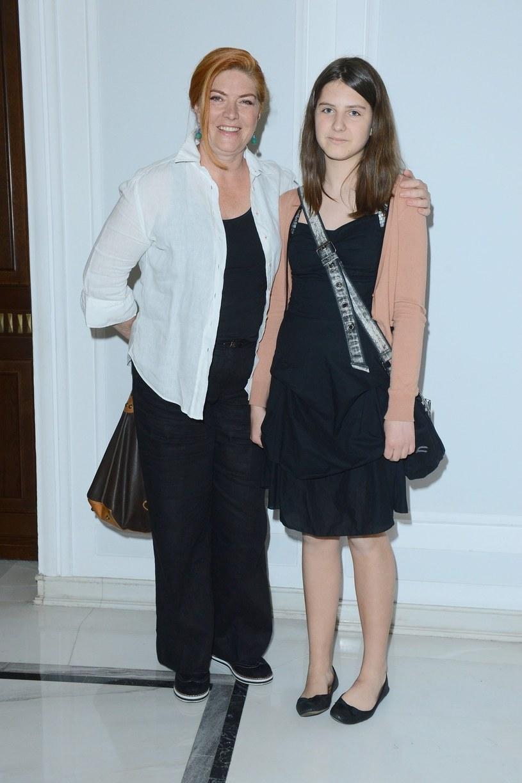 Dowbor z córką /Tricolors /East News