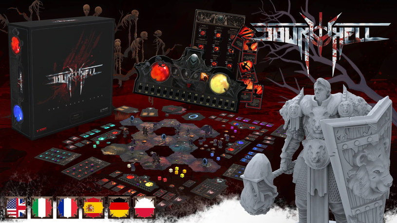 Down to Hell: The Board Game /materiały prasowe