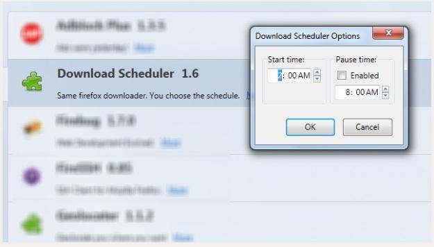 Download Scheduler dla Firefoksa /gizmodo.pl