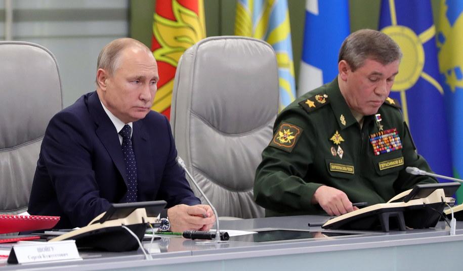 Dowódca rosyjskich wojsk rakietowych generał Siergiej Karakajew zapowiadał, że pierwsze kompleksy Awangard z blokiem ponaddźwiękowym trafią do jednostki w obwodzie orenburskim /MICHAEL KLIMENTYEV/SPUTNIK/KREMLIN POOL / POOL /PAP/EPA