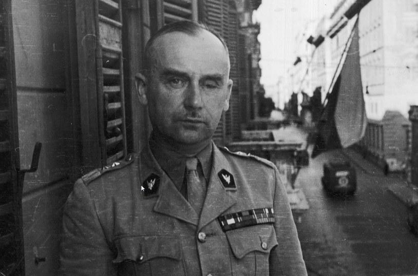 Dowódca Samodzielnej Brygady Strzelców Karpackich generał Stanisław Kopański /Z archiwum Narodowego Archiwum Cyfrowego