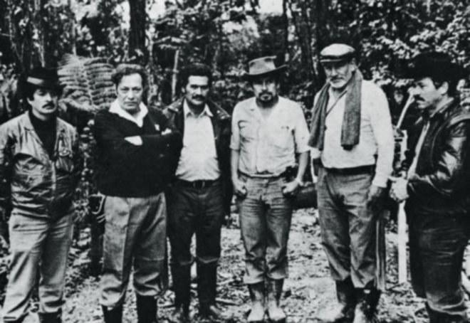 Dowódcy FARC w 1961 roku. Drugi z lewej Manuel Marulanda Vélez - założyciel bojówek /Getty Images/Flash Press Media