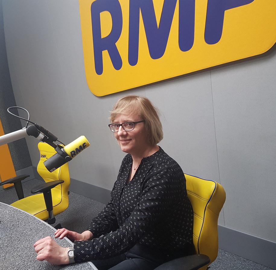 dr Anna Sorysz, specjalista chorób wewnętrznych , specjalista kardiolog /RMF FM