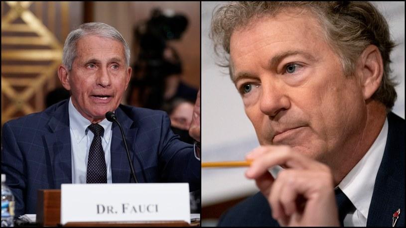 Dr Anthony Fauci i senator Rand Paul /Stefani Reynolds / POOL;J. Scott Applewhite / POOL /PAP/EPA