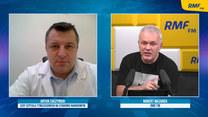 Dr Artur Zaczyński o szpitalu na Narodowym: Przygotowujemy górny poziom. Już właściwie w poniedziałek