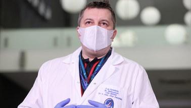 Dr Artur Zaczyński o wolnym tempie szczepień: Musimy się nauczyć taśmociągu