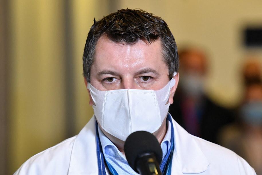 Dr Artur Zaczyński / Radek Pietruszka   /PAP