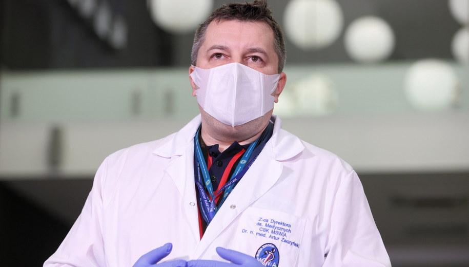 Dr Artur Zaczyński / Leszek Szymański    /PAP