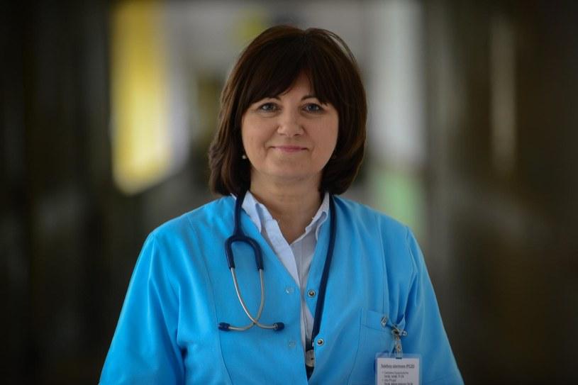 Dr Barbara Surowska - alergolog i pediatra poradni Alergologicznej Centrum Zdrowia Dziecka /www.zdrowie.pap.pl