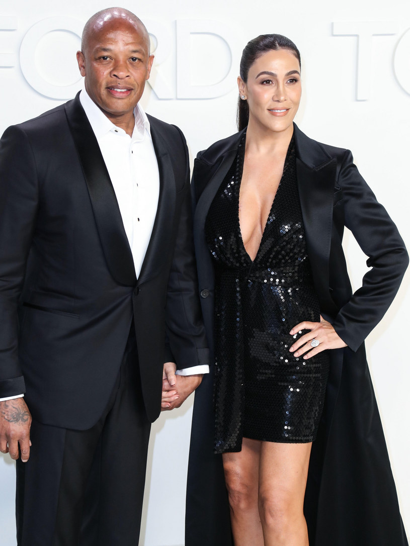 Dr. Dre i Nicole Young /ImagePressAgency/face to face/FaceToFace/REPORTER /Reporter