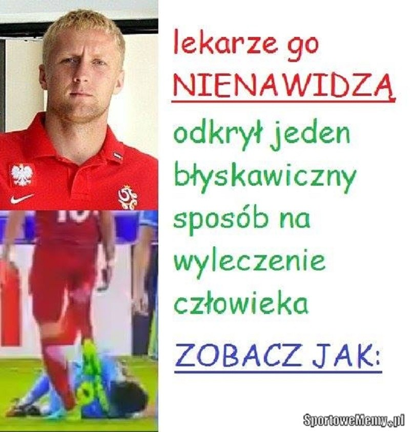Dr Glik /Sportowememy.pl