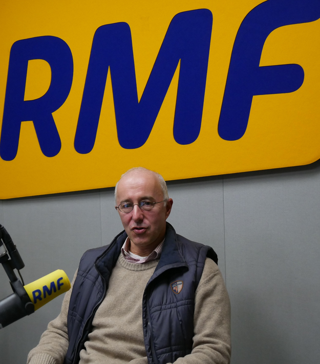 dr hab. Pawł Brueckman de Renstrom /Grzegorz Jasiński /RMF FM
