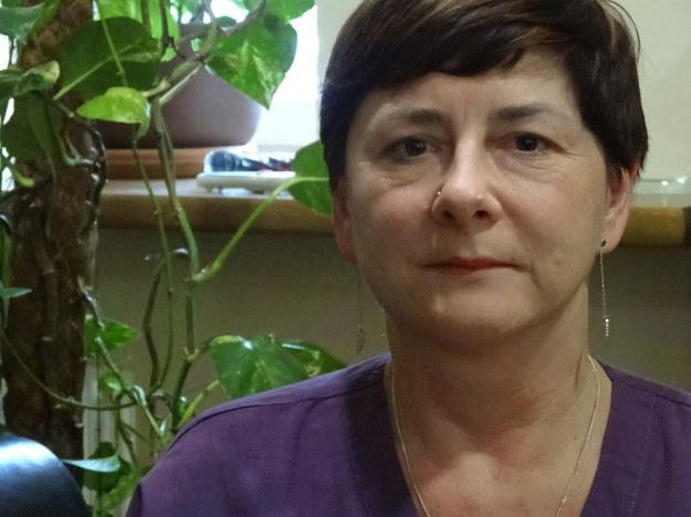 Dr Irena Milaniak - pielegniarka koordynująca /Grzegorz Jasiński /RMF FM