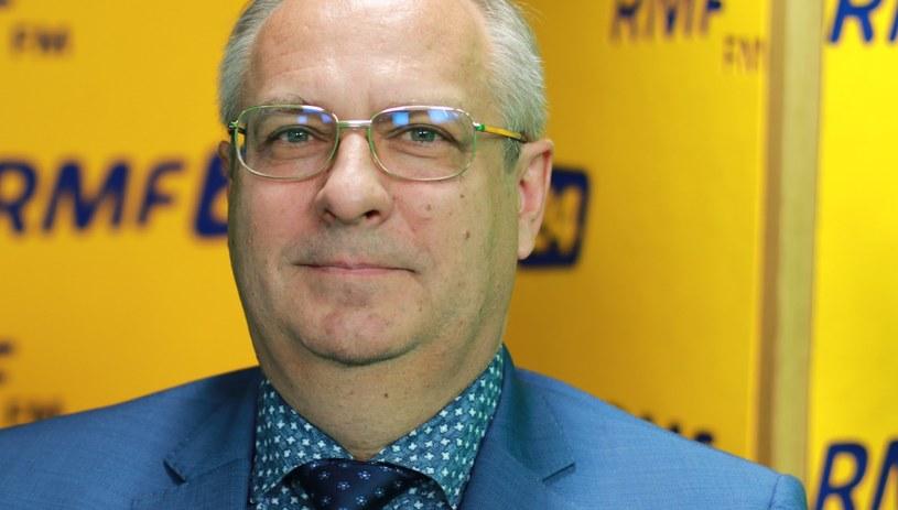 Dr Jarosław Rosłon, dyrektor Międzyleskiego Szpitala Specjalistycznego /Kamil Młodawski /RMF FM