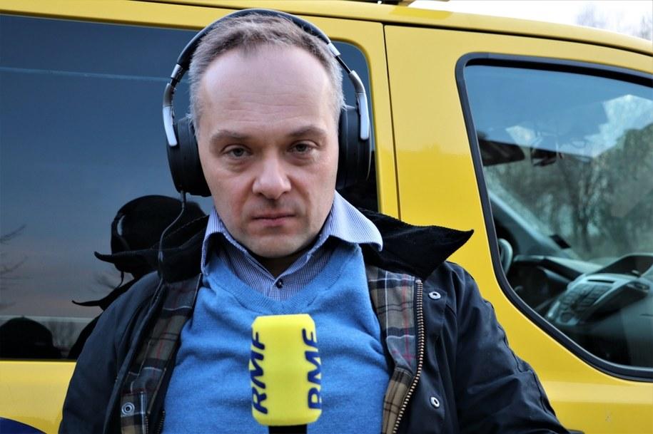 Dr Konstanty Szułdrzyński /Jacek Skóra /RMF FM