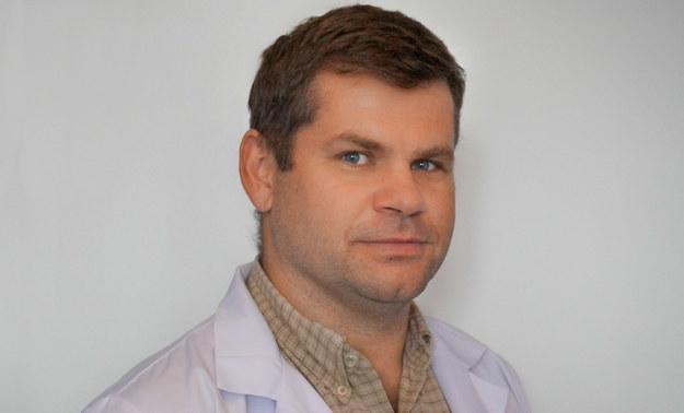 dr Krzysztof Lewandowski, chirurg naczyniowy /
