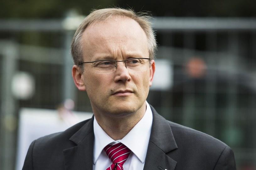 Dr Łukasz Kamiński, szef Instytutu Pamięci Narodowej /Andrzej Hulimka/Reporter /East News