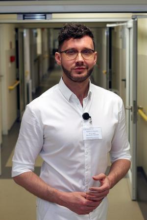 Dr Maciej Socha, ordynator Oddziału Położniczo-Ginekologicznego w szpitalu na gdańskiej Zaspie /Copernicus /