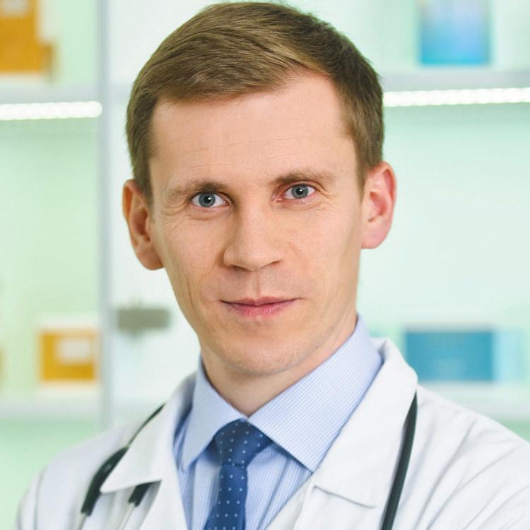 dr Marek Kaszuba - specjalista chorób wewnętrznych /