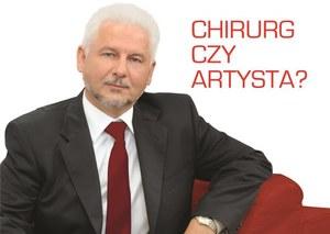 Dr Marek Szczyt. Chirurg czy artysta?