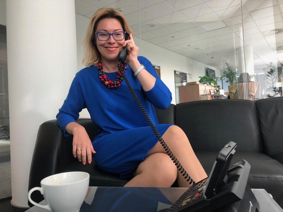 dr Marta Sobczyńska /Michał Dobrołowcz /RMF FM