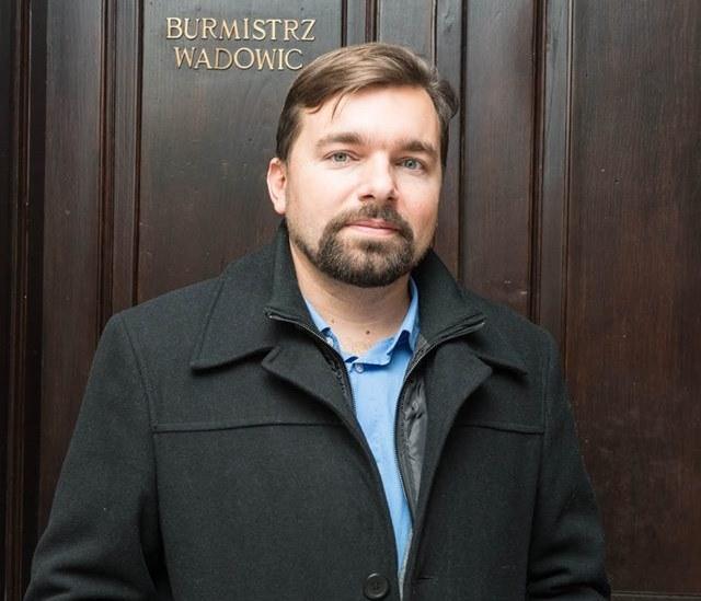 Dr Mateusz Klinowski, burmistrz Wadowic. Fot: Szymek Góralczyk /