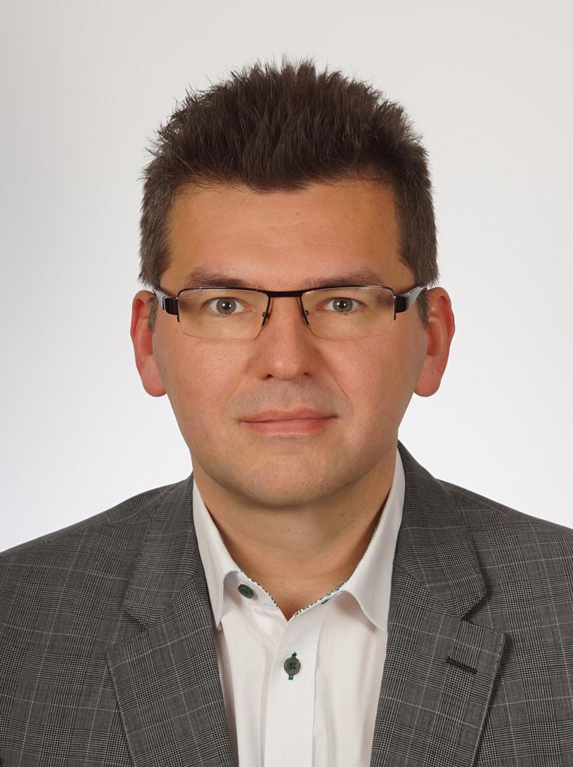 dr Michał Brzeziński z Wydziału Nauk Ekonomicznych Uniwersytetu Warszawskiego. /&nbsp