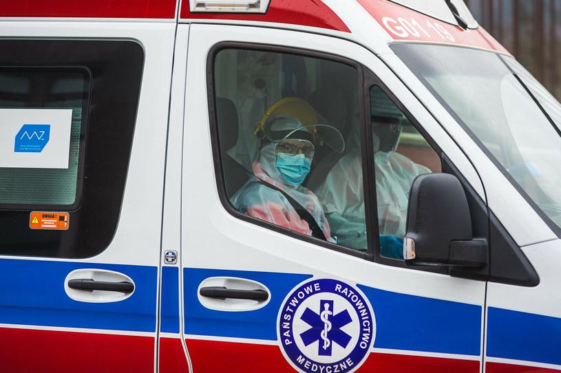 Dr Michał Sutkowski prognozuje, że przed świętami będziemy mieli ponownie większą liczbę zgonów. /Karol Makurat/REPORTER /East News