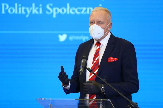 Dr Michał Sutkowski /Rafał Guz /PAP