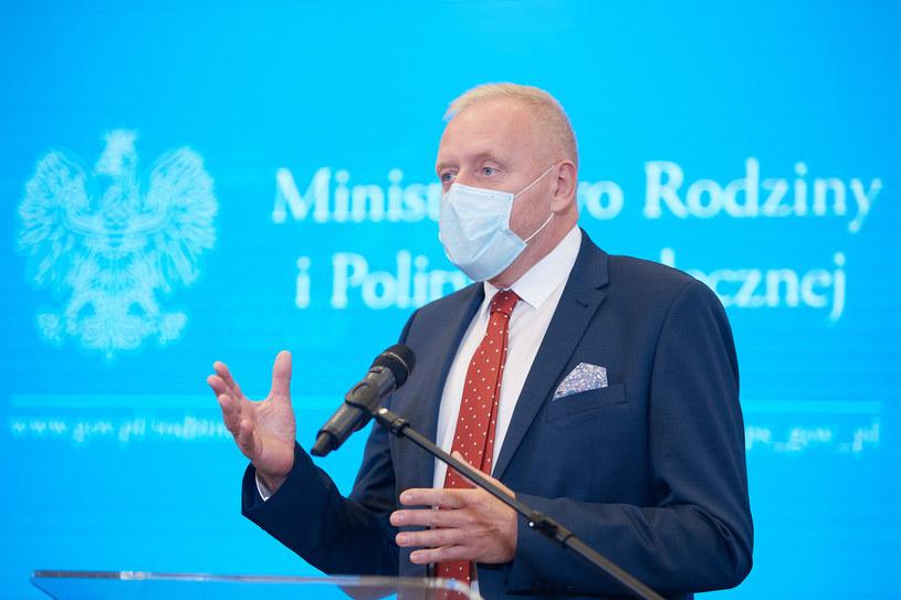 Dr Michał Sutkowski /Hubert Mathis/Zuma Press /Agencja FORUM