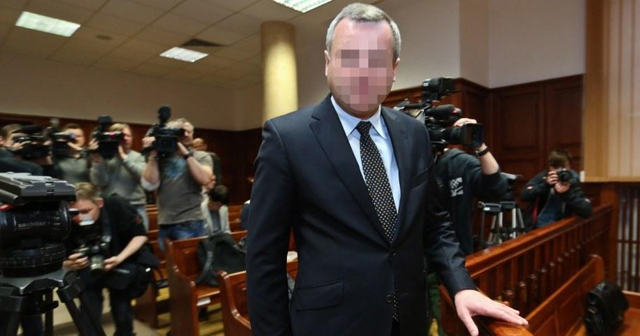 Dr Mirosław G. przed sądem /Fot. Rafał Guz /PAP
