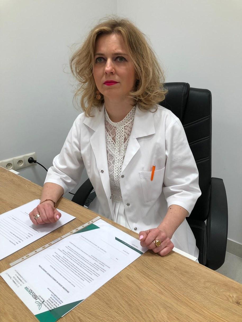 Dr n. med. Natalia Ryszawa-Mrózek - reumatolog, specjalista chorób wewnętrznych /materiały prasowe /
