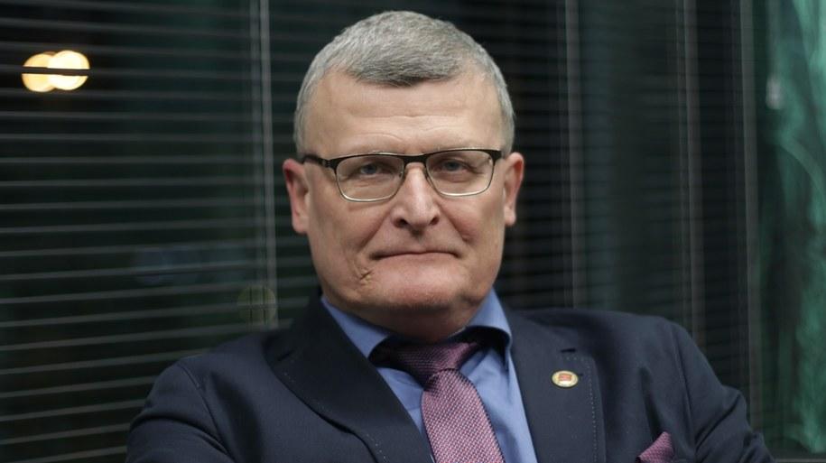 dr Paweł Grzesiowski, główny doradca ds. pandemii Covid -19 Naczelnej Rady Lekarskiej /Piotr Szydłowski /RMF24