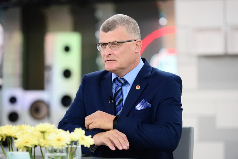 Dr Paweł Grzesiowski /Wojciech Olszanka/Dzien Dobry TVN/ /East News