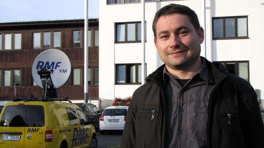 Dr Paweł Wajer z Centrum Badań Kosmicznych PAN /Kamil Młodawski (RMF FM) /RMF FM