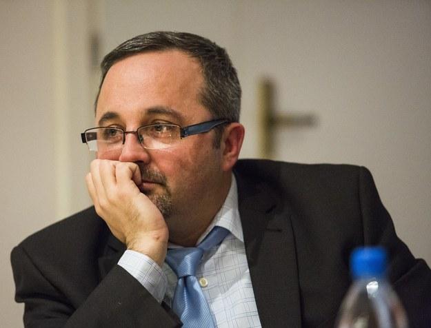 Dr Piotr Gontarczyk: Moją intencją nigdy nie było naruszanie niczyich dóbr osobistych /Andrzej Hulimka  /Reporter