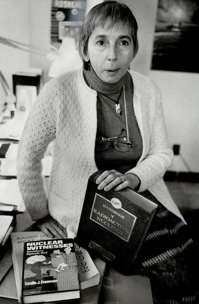 Dr. Rosalie Bertell w 1981 roku alarmowała opinię publiczną o powrotach mieszkańców na skażoną wyspę Eniwetok. /Getty Images