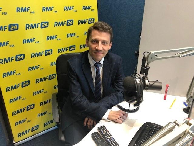 dr Sebastian Kwiatek, internista z Wojewódzkiego Szpitala Specjalistycznego nr 4 w Bytomiu /Anna Kropaczek /RMF FM