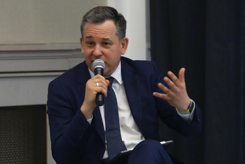 Dr Sławomir Dudek, główny ekonomista i wiceprezes Forum Obywatelskiego Rozwoju /Tomasz Jastrzębowski /Reporter