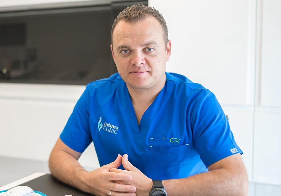 dr Tomasz Basta, specjalista w zakresie ginekologii i położnictwa oraz ginekologii plastycznej /