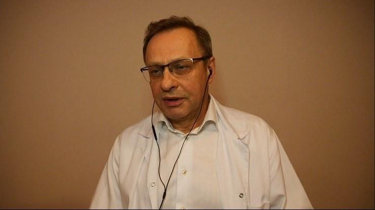"""Dr Włodzimierz Bodnar w programie Polsat News pt. """"Gość Wydarzeń"""" - zdjęcie archiwalne /Polsat News"""