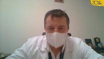 Dr Zaczyński: Koronawirus jest jak atakujący nas rekin. Jeśli się zatrzymamy, przepłynie obok